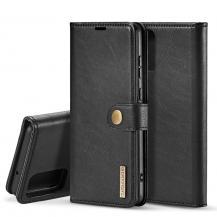 DG.MINGDG.MING Plånboksfodral 2-i-1 Split till Samsung S20 Ultra - Svart