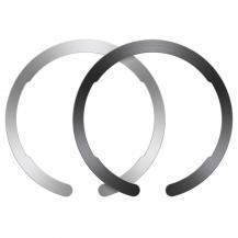 ESRESR - Halolock Magsafe Universal Magnetic Ring - Svart & Silver
