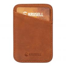 KrusellKruselliPhone MagSafe Korthållare - Cognac