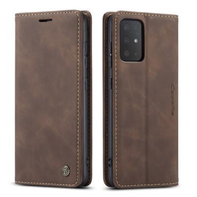 CASEME Plånboksfodral till Galaxy S20 Plus - Brun