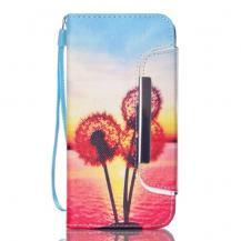 OEMDetachable 2 in 1 Plånboksfodral till Samsung Galaxy S6 Edge - Dandelion