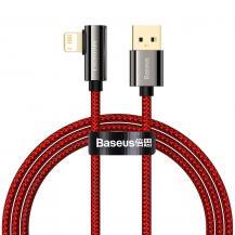 BASEUSBaseus Lightning Kabel USB 2.4A 1m - Röd