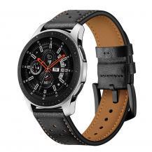 Tech-ProtectTech-Protect Läder Samsung Galaxy Watch 46Mm Svart