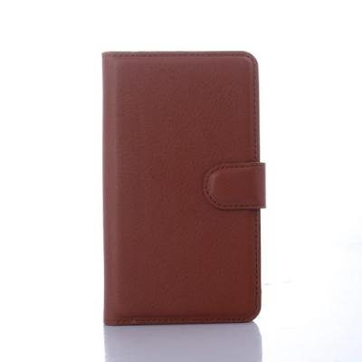 Plånboksfodral till Sony Xperia E4 - Brun