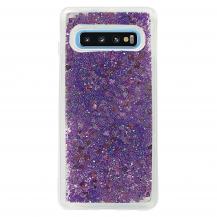 CoveredGearGlitter Skal till Samsung Galaxy S10 - Lila
