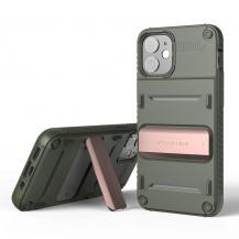 VERUSVRS DESIGN | Damda QuickStand Skal iPhone 12 Mini - Bronze Grön
