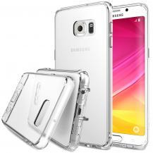 RearthRingke Fusion Shock Absorption Skal till Samsung Galaxy S6 Edge Plus - Clear