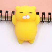 A-One BrandMochi Toys Animals - Squishy Fidget - 4-Pack - Gul