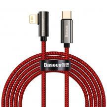 BASEUSBaseus Lightning Kabel USB Type-C 20W 2m - Röd