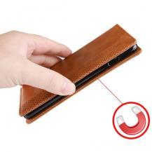 A-One BrandVintage Plånboksfodral till Samsung Galaxy S10 - Brun