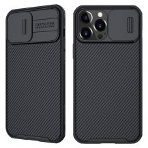 NillkinNillkin CamShield Silikon Skal iPhone 13 Pro Max - Svart