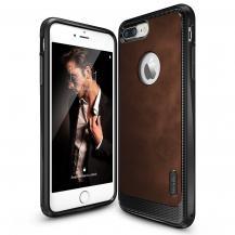 RearthRingke Leather Style Skal till Apple iPhone 7 Plus - Brun
