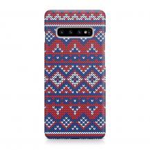 TheMobileStore Slim CasesDesigner Skal till Samsung Galaxy S10 - Pat2143