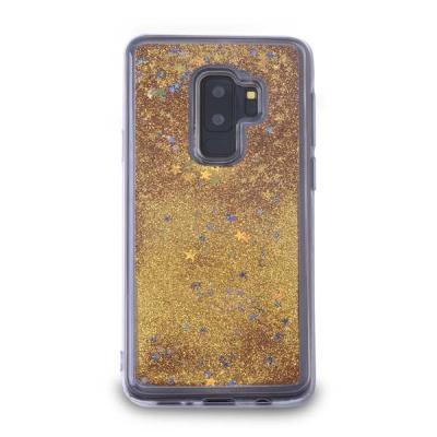 Glitter Skal till Samsung Galaxy S9 Plus - Guld