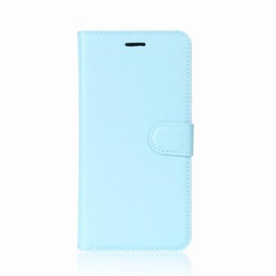Litchi Plånboksfodral till Sony Xperia XA2 - Blå