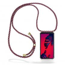 CoveredGearCoveredGear Necklace Case Huawei P20 Pro - Red Camo Cord