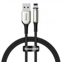 BASEUSBaseus Zinc magnetisk USB Kabel lightning 2A 1m Svart