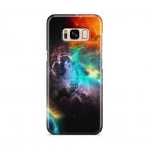 Skal till Samsung Galaxy S8 - Rymden - Svart/Blå