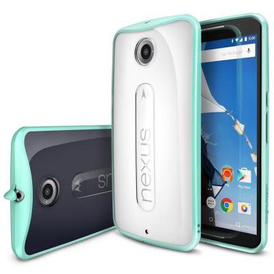 Ringke Fusion Skal till Google Nexus 6 - Mint