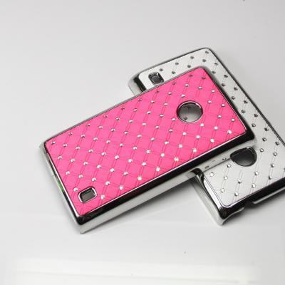 Diamante Skal till Nokia Lumia 520 (Rosa)