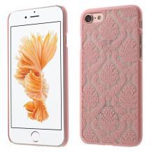 OEMDamask Flowers Mobilskal till iPhone 7/8/SE 2020 - Rosa
