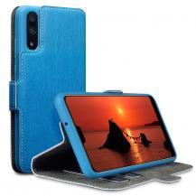 A-One BrandQubits Plånboksfodral till Huawei P20 - Blå