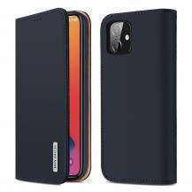 Dux DucisDUX DUCIS Äkta Läder Plånboksfodral iPhone 12 Mini - Blå