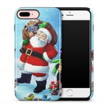 TheMobileStore Print CasesTough mobilskal till Apple iPhone 7 Plus - Glad Jultomte