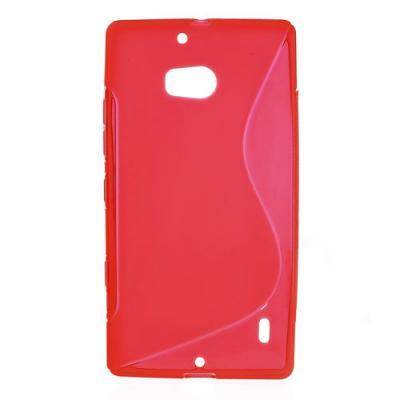 FlexiCase Skal till Nokia Lumia 930 (Röd)