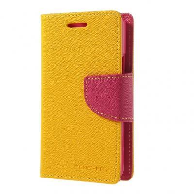 Mercury Plånboksfodral till Sony Xperia E1 - Gul