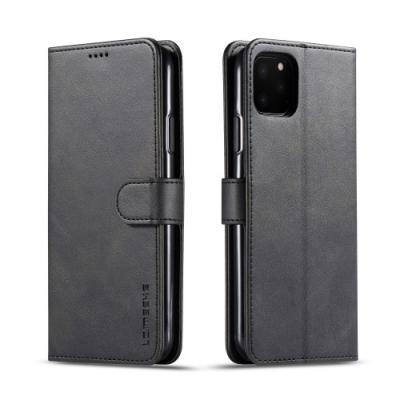 LC.IMEEKE Plånboksfodral för iPhone 11 Pro Max - Svart