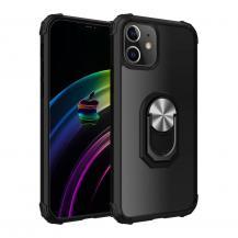 Ring Holder Mobilskal iPhone 12 Pro Max - Svart