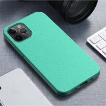 OEMWheat Straw Eco-Vänling Mobilskal iPhone 12 Mini - Cyan