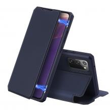 Dux DucisDUX DUCIS Leather Fodral Till Samsung Galaxy Note 20 - Blå
