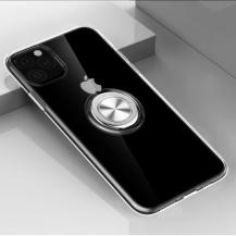A-One BrandSkal med Mobilhållare för iPhone 11 Pro - Transparent