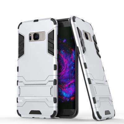 Hybrid Mobilskal Samsung Galaxy S8 Plus - Silver