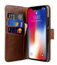 CoveredGearCoveredGear Classic Wallet till iPhone XS / X - Brun