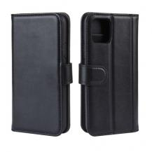 A-One BrandGenuine Split Plånboksfodral till iPhone 11 Pro - Svart