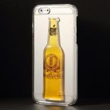 OEMBaksideSkal till Apple iPhone 6 / 6S - Liquid Beer Bottle (Yellow)