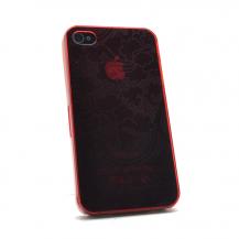 OEMBaksidesskal till iPhone 4/4S (Röd)