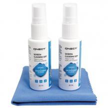 OEMQnect Cleaning Skärmrengöringssats, 2 x 30 ml + mikrofiberduk
