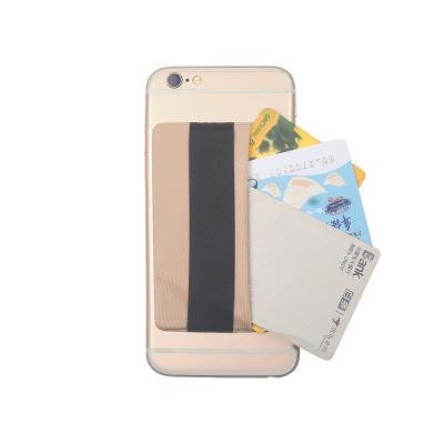 Kreditkortshållare för smartphones - Guld