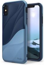 RearthRingke Wave Skal till Apple iPhone XS / X - Blå