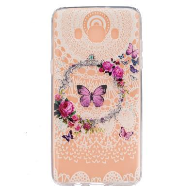 Flexicase Skal till Samsung Galaxy J5 2016 - Butterflies