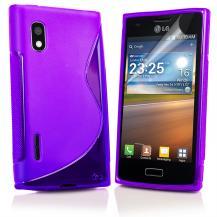 A-One BrandFlexiCase Skal till LG Optimus L5 - E610 - (Lila)