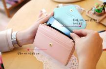 OEMCrown Smart Fold plånbok-mobilväska (Orange)