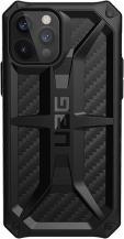 UAGUAG Monarch Skal iPhone 12 & 12 Pro - Carbon Fiber
