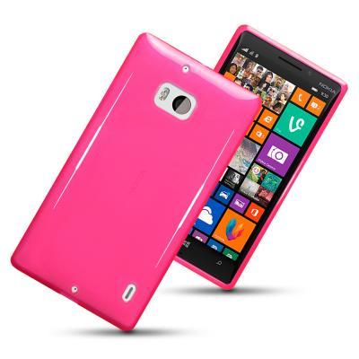 FlexiCase Skal till Nokia Lumia 930 (Magenta)