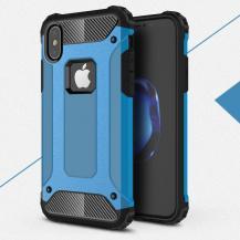 A-One BrandHybrid Armor Mobilskal till Apple iPhone XS / X - Blå