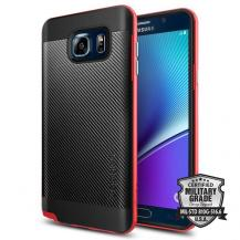 SpigenSPIGEN Neo Hybrid Carbon Skal till Samsung Galaxy Note 5 - Röd